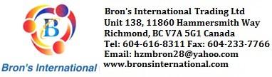 Bron's International Trading Ltd