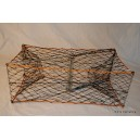 CT005 Electro Plated Steel Folding Crab Trap