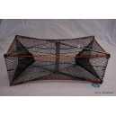 ST005 Pacific Electro Plated Steel Folding Prawn Trap